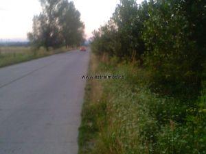 Teren 7500 mp de vanzare pe drumul Colanu- Vacaresti